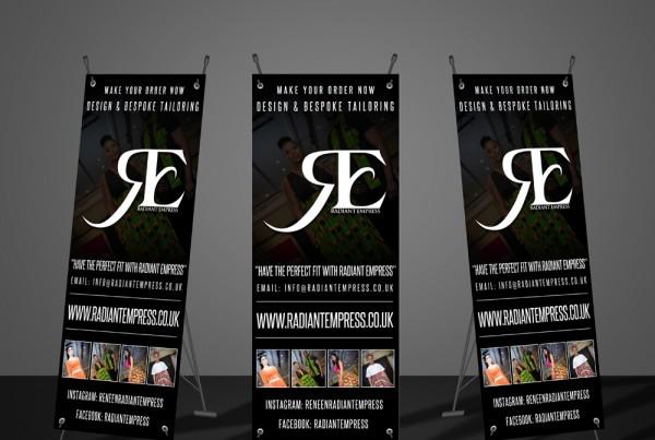 re banner