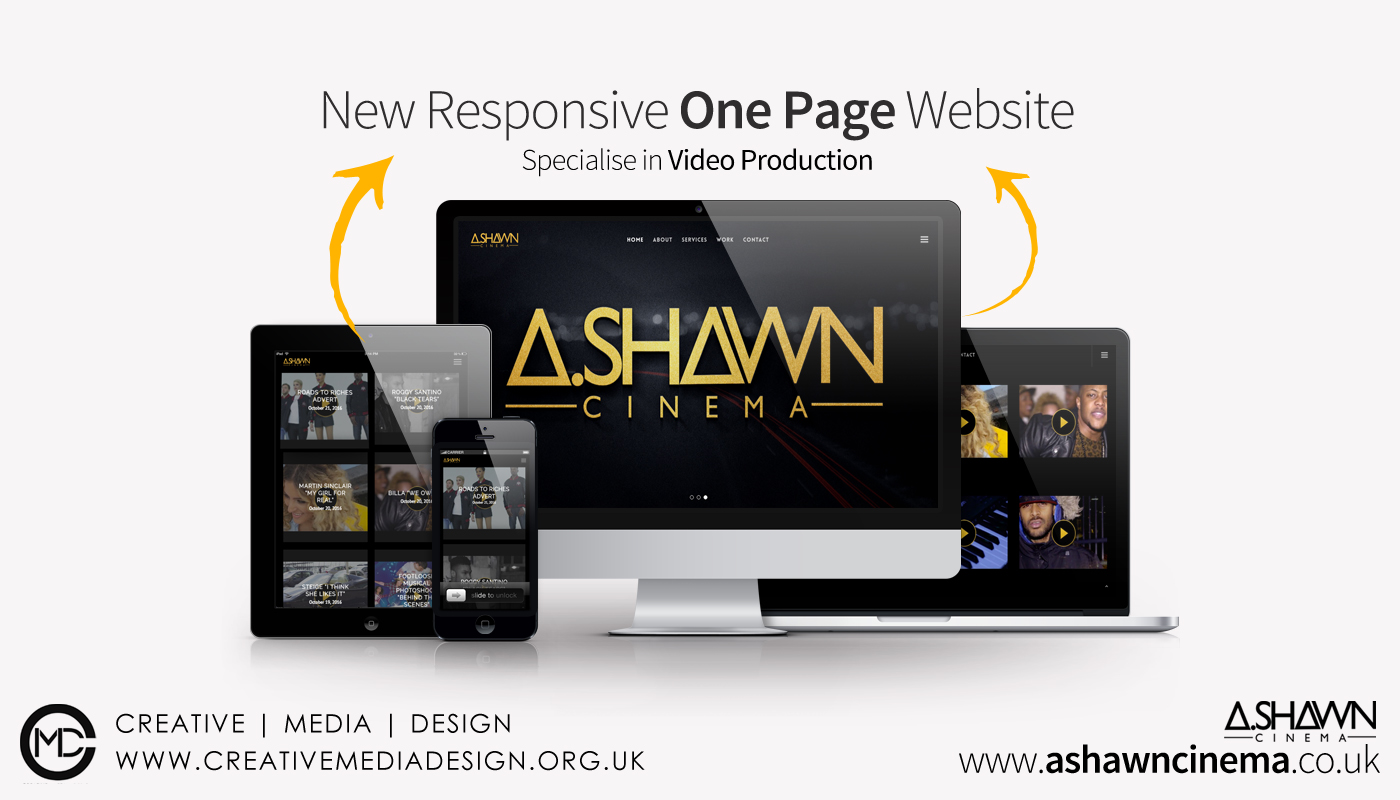 NEW ONE PAGE WEBSITE | A.SHAWN CINEMA