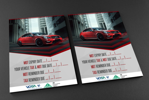 Free A4 Front and Back Flyer Mockup CAR WEB