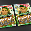 BRUM FEST Front and Back Flyer Mockup WEB
