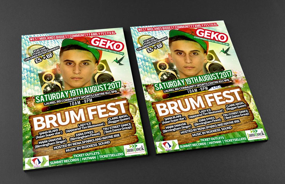 BRUM FEST Front and Back Flyer Mockup WEB