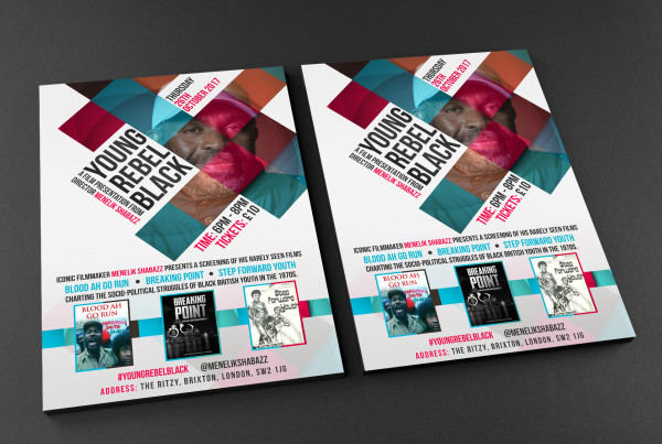Free A4 Front and Back Flyer Mockup YRB WEB