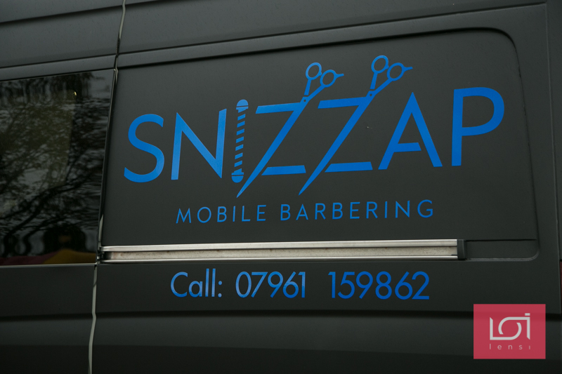 SNIZZAP MOBILE BARBERING LAUNCH