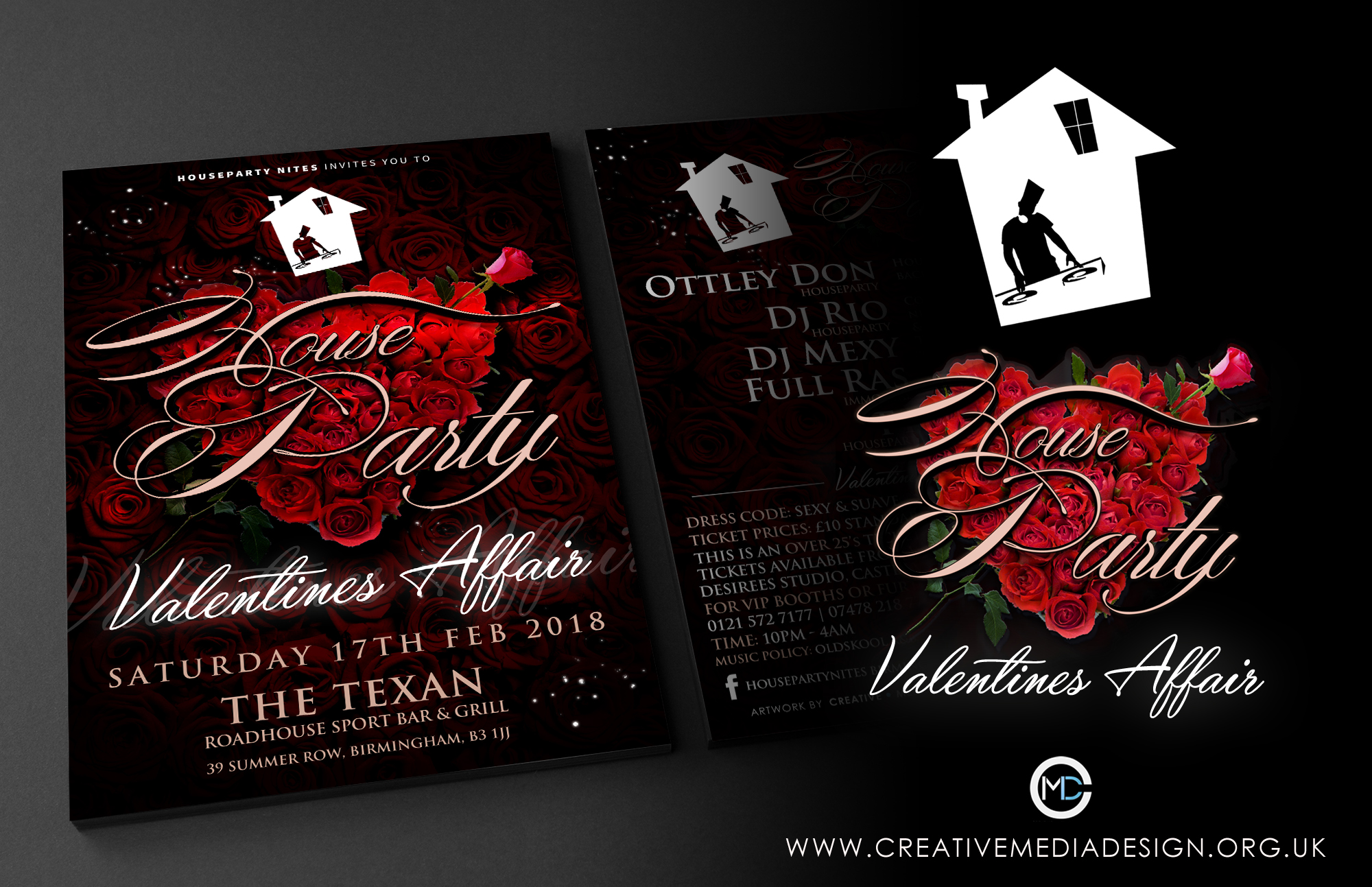 HOUSE PARTY VALENTINES AFFAIR